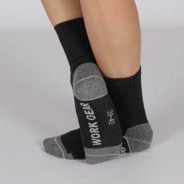 Werk-sok-Zwart-3-pack-los